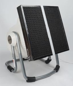 Smart Air Cannon purifier DIY carbon