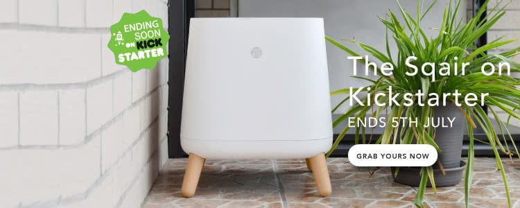Le purificateur d'air Sqair Kickstarter