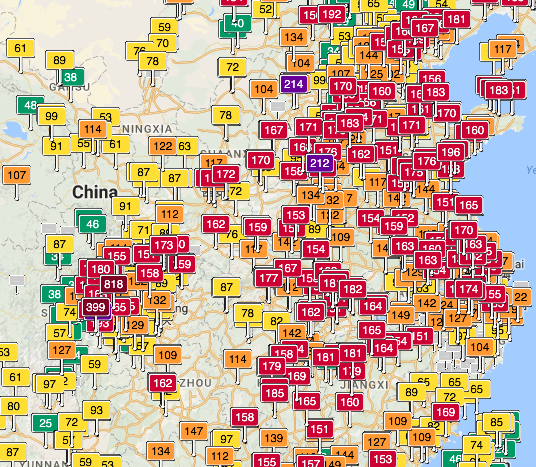Us Emby Beijing Reads Aqi Of 0 Are The Summer Skies Always Clear