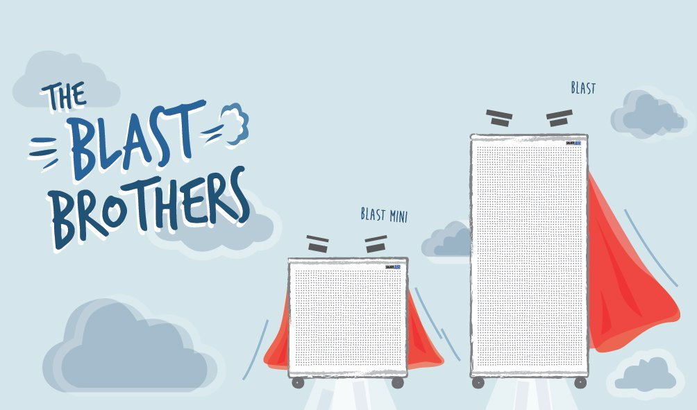 Blast Brothers Smart Air FFU Purifier