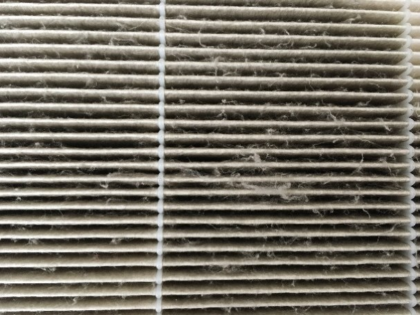 vacuuming HEPA filter can remove clogged dust particles but also damage fibers