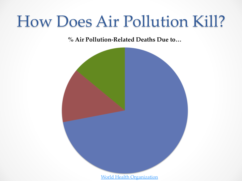 Outdoor Air Pollution Kills WHO