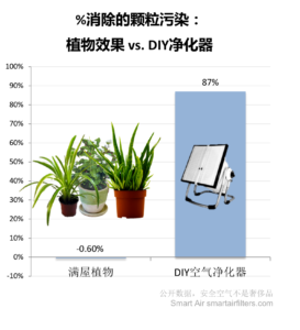 plants vs air purifier pm2.5
