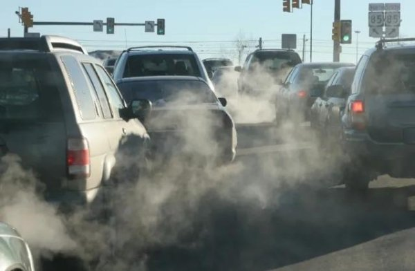 ozone level relate with car emission