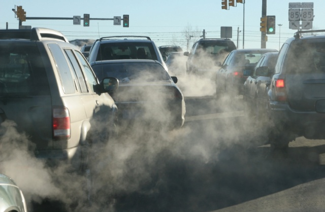 Car Air Pollution Stopped Driving