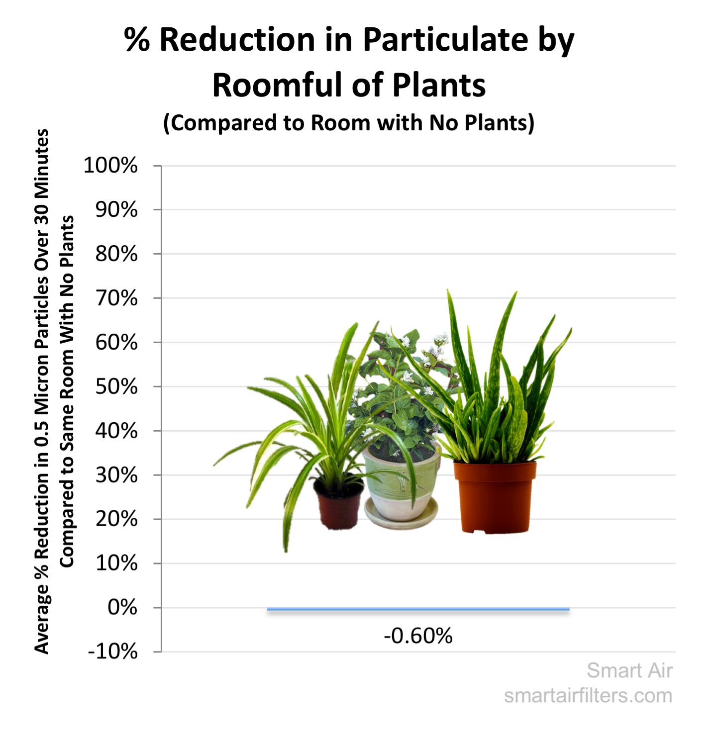 Plant Purifier Effect Air Pollution Test
