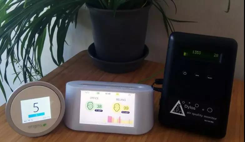 Review of air quality monitors and air pollution particle counters