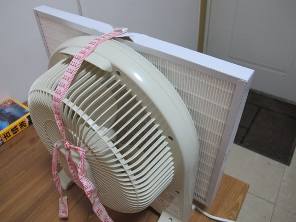 A low cost, effective DIY air purifier for Mongolia