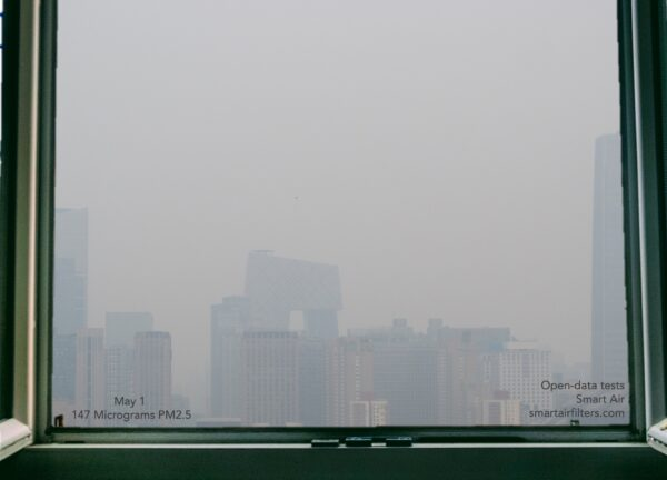 Polluted Sky Beijing PM2.5