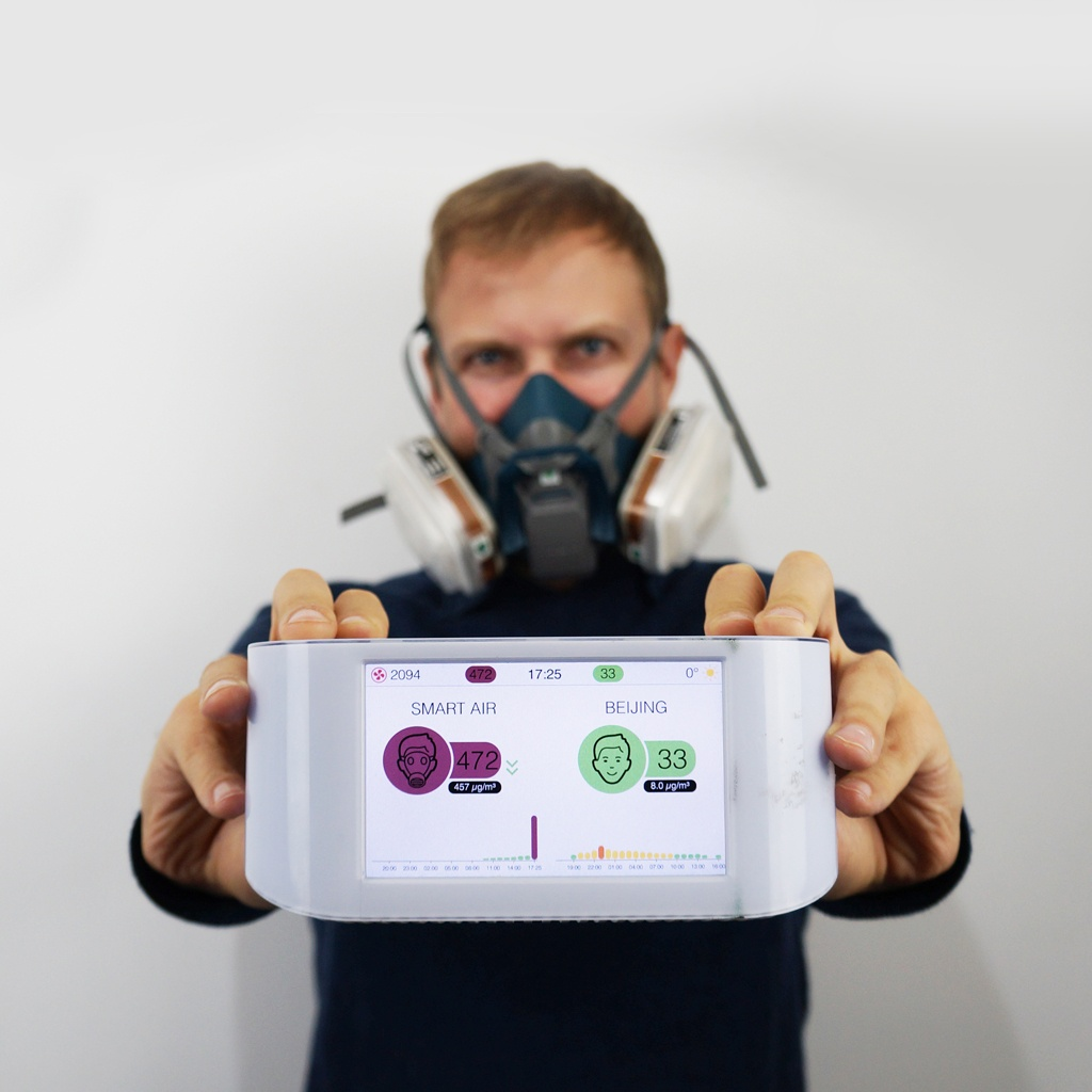 Air purifier test air quality audit