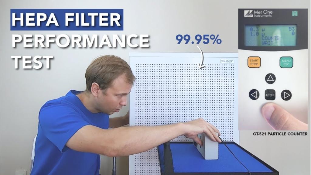 How long do the Blast and Blast Mini HEPA filters last?