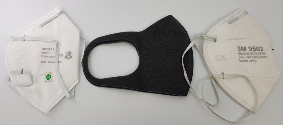 comparison and review of Pitta mask with 3M air pollution masks
