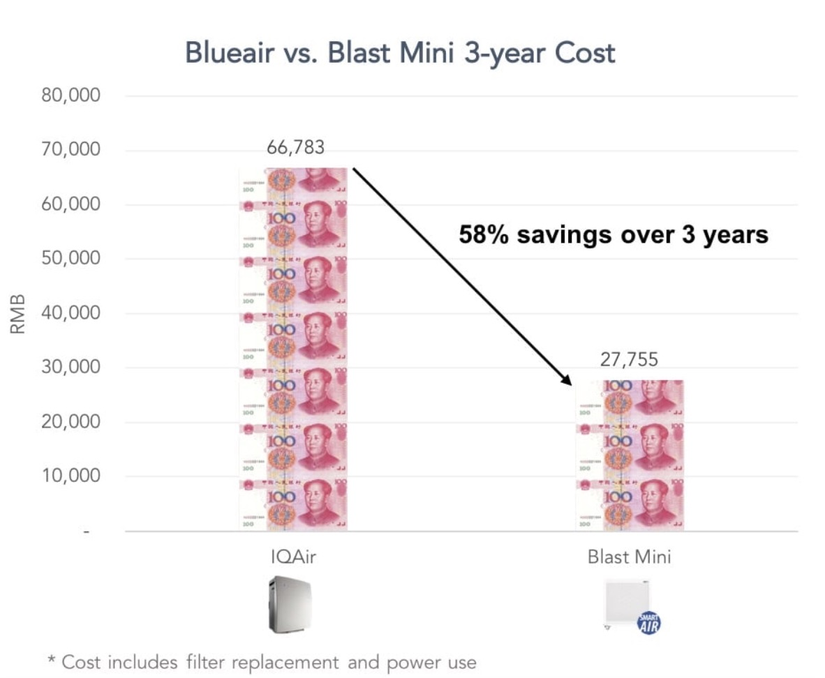 Blueair Replacement Cost Price Review