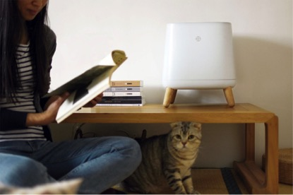 Sqair simple, effective, beautiful air purifier without WiFi app