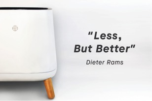Sqair less but better Deiter Rams design philosophy
