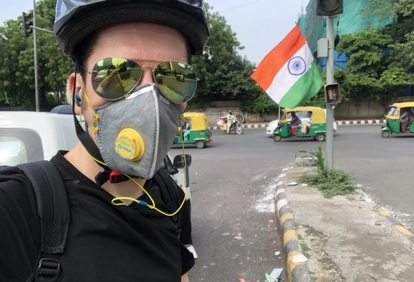 Bike Pollution Mask India