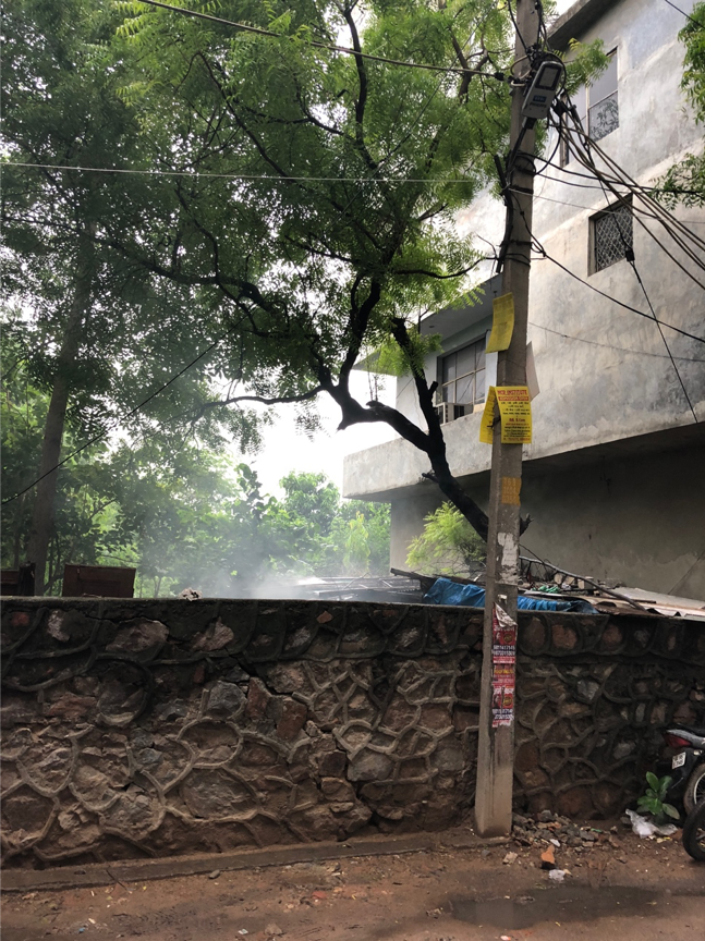 Reduce garbage burning and fires to reduce air pollution in Delhi