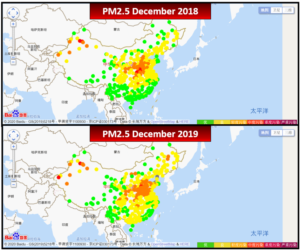 china air quality map Did China S Air Quality Improve In 2019 Smart Air china air quality map