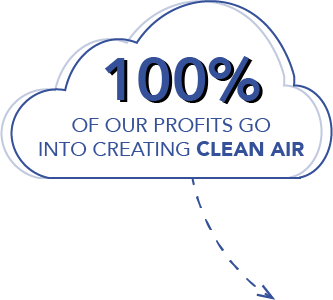 Smart air social enterprise profits to mission