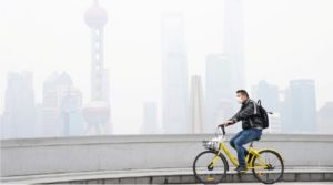 Shanghai air quality and PM2.5 concentration in year 2019