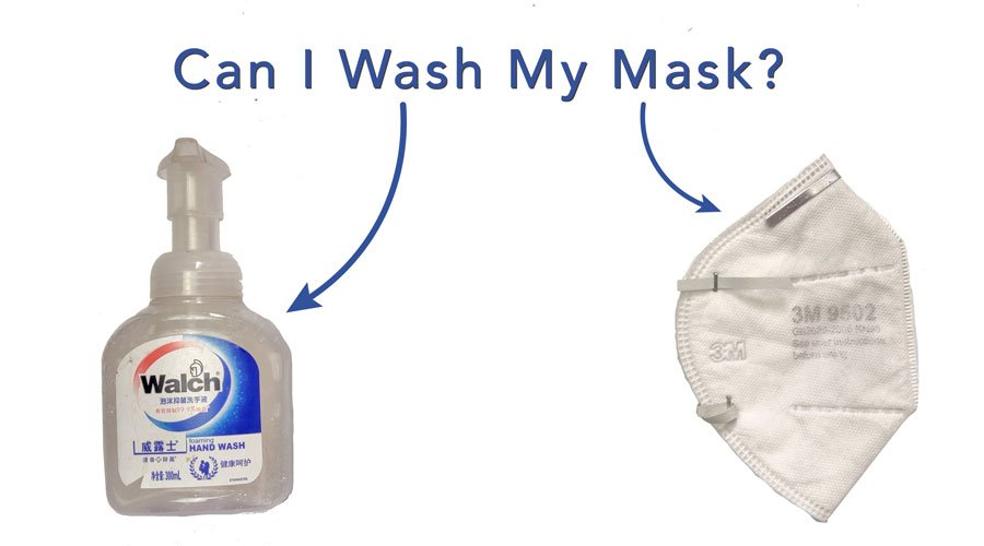 Can I wash my N95 Mask?