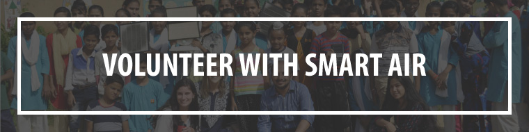 Volunteer to fight air pollution at Smart Air