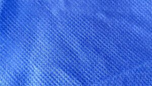 nonwoven polypropylene material close-up