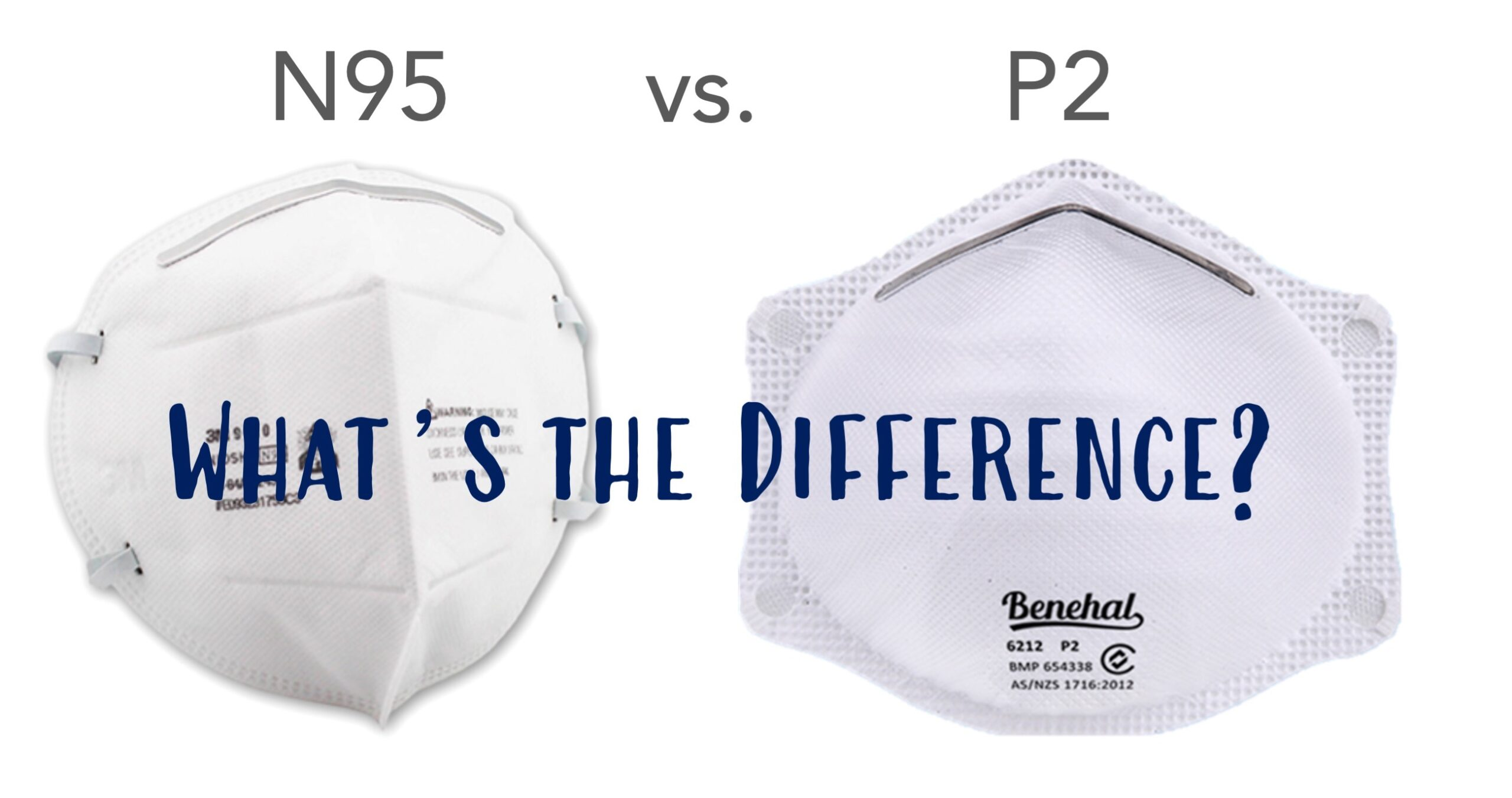 N95 vs P2 Masks