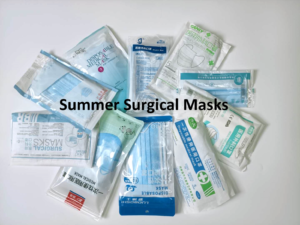 Summer surgical masks easy to breathe with good filtering efficiency