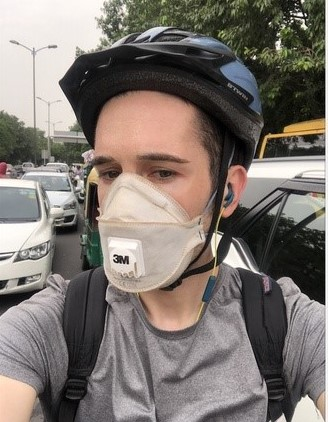 Wearing N95 face mask outside does not reducing the oxygen breathe in