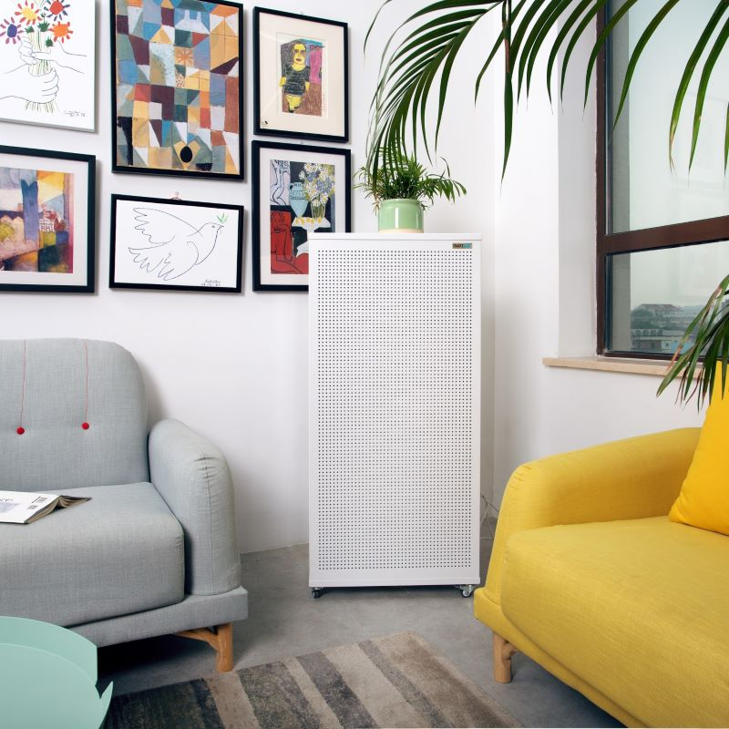 Blast HEPA air purifier used in schools and offices