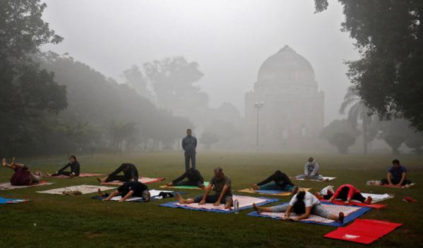 Delhi People Outdoor Excercise