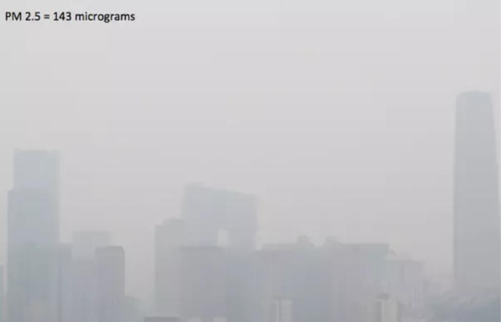 Beijing Polluted Sky