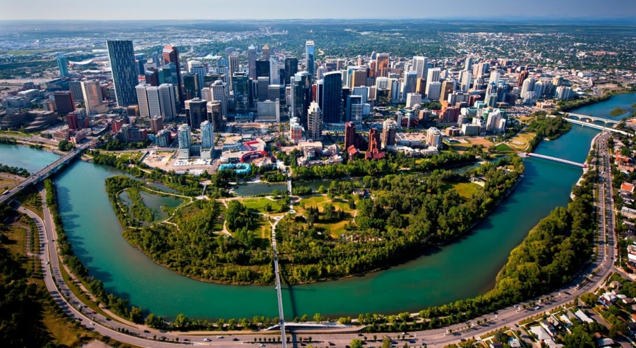 Calgary Canada one of least polluted cities in the world