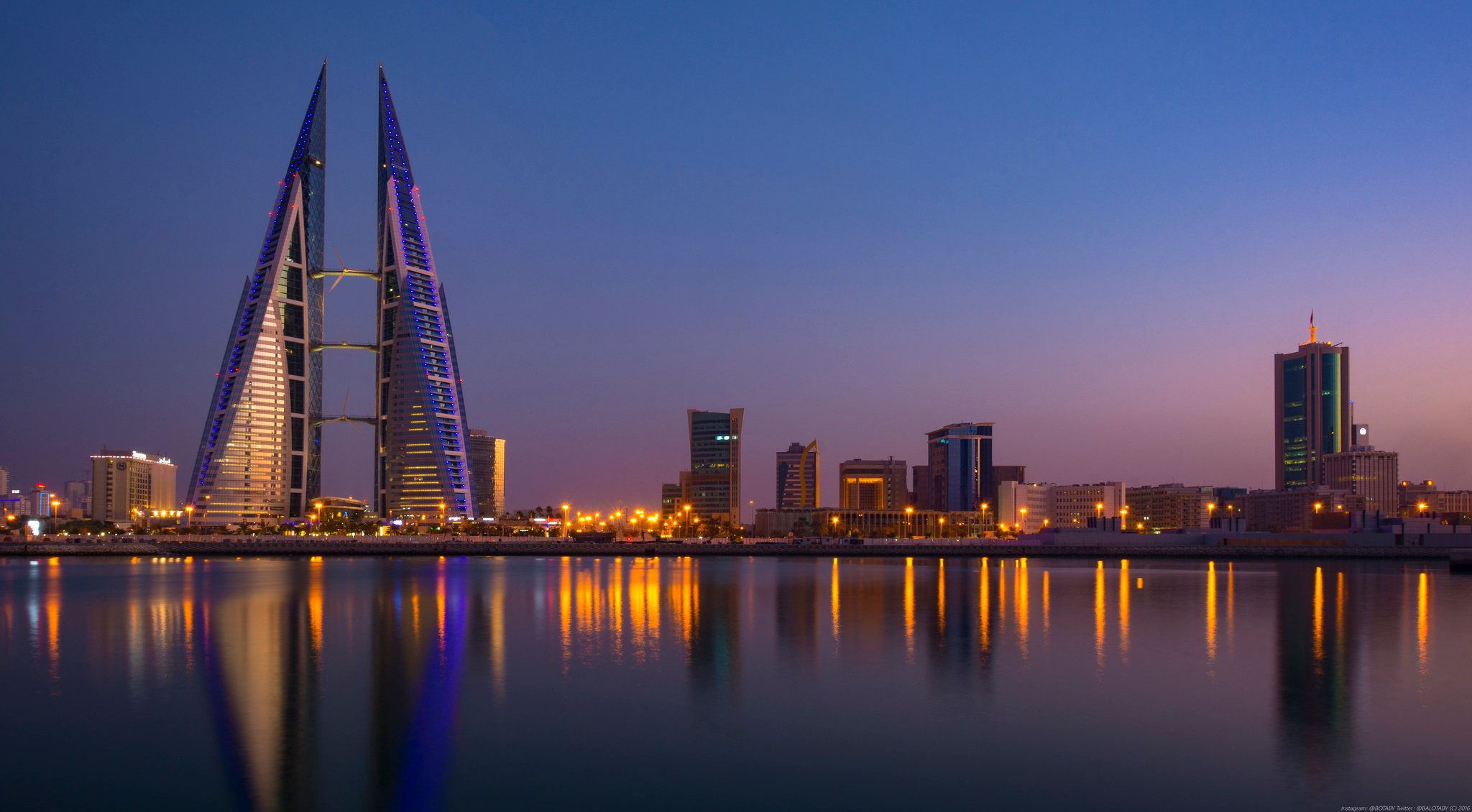 Manama Bahrain Air Pollution One of Worst in World