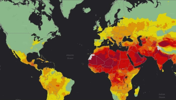 Global Air Pollution Map