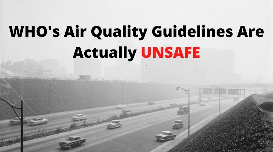 WHOs Air Quality Guidelines Are Actually Unsafe