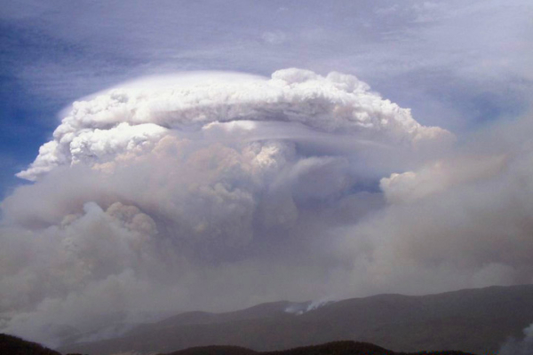 Wildfire smoke can reach the stratosphere