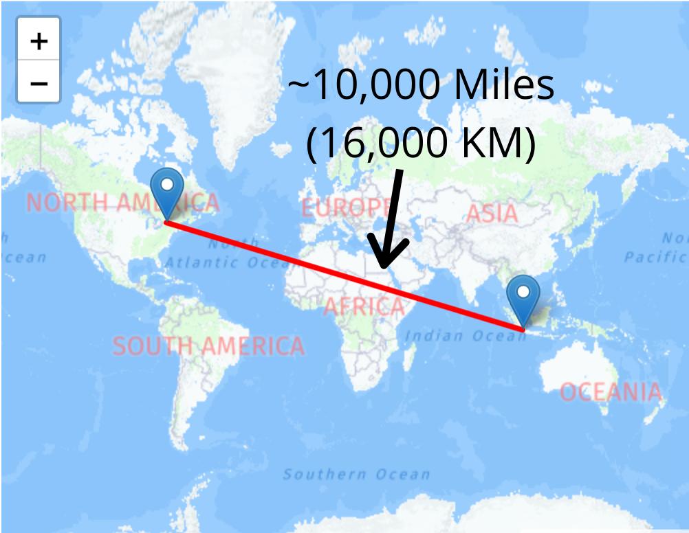 How Far Can Volcano Smoke Travel?