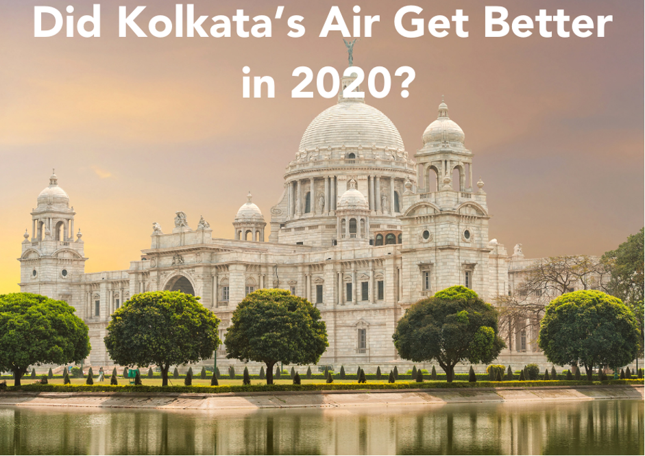 Kolkata's air pollution in 2020 did not improve