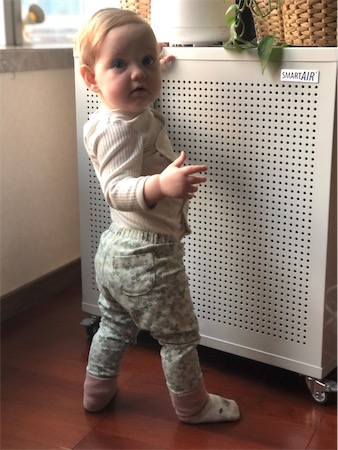 Protect Babies from air pollution with Smart Air air purifier