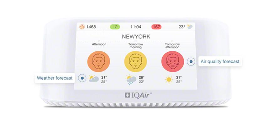 Air Quality Monitor Rankings: IQAir AirVisual Pro