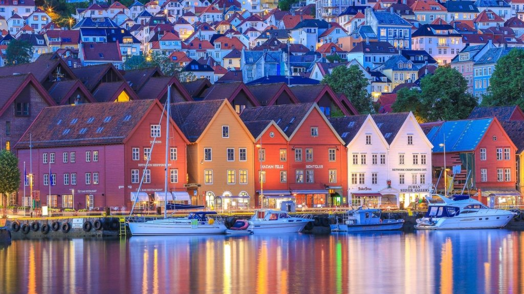 Bergen, Norway ranked 10th on cleanest air list.