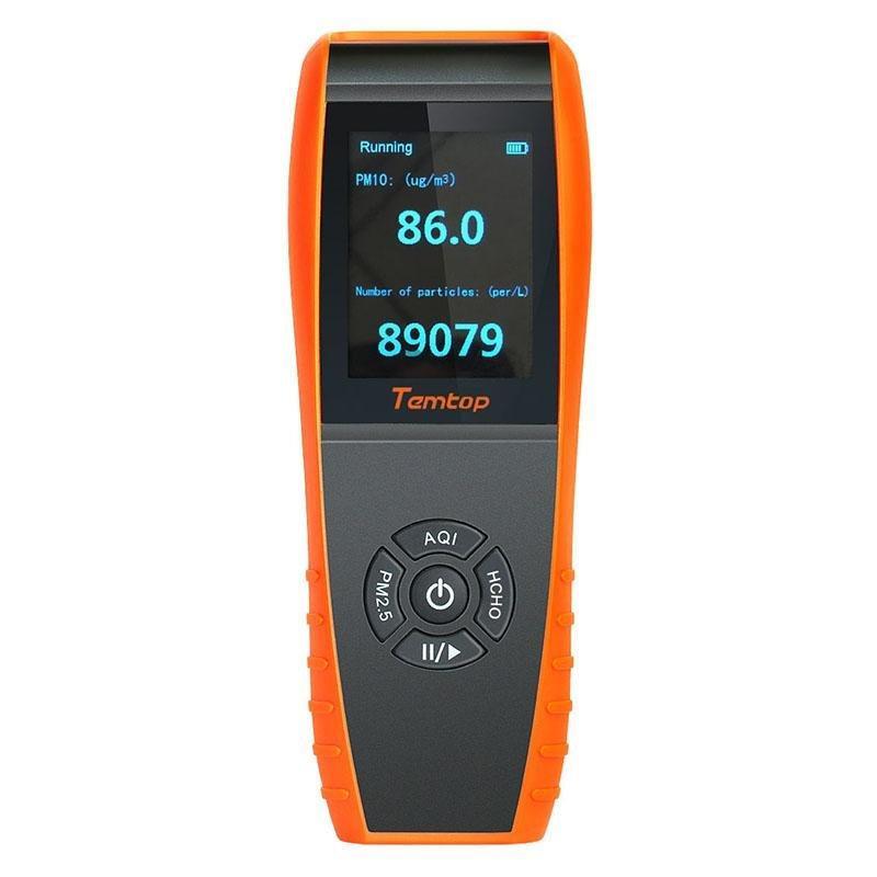 Air Quality Monitor Rankings: Elitech Temtop LKC-1000S+