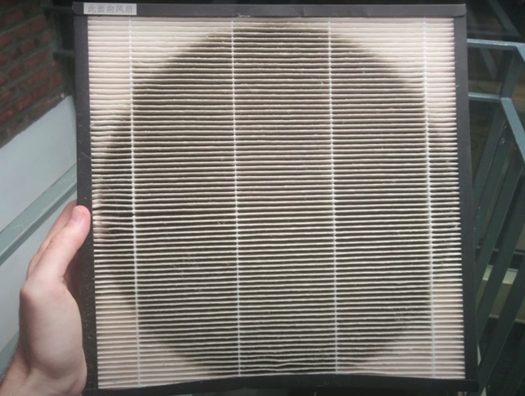When to replace an air purifier's HEPA filter