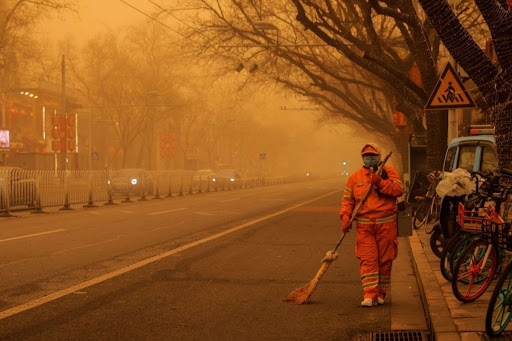 PM2.5 pollution in China's major cities (2020 vs 2021)