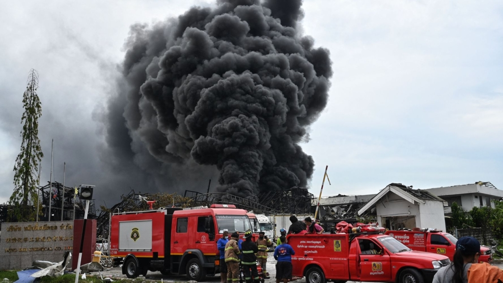 Simple Trick to Breathe Clean Air After Samut Prakan Factory Blast
