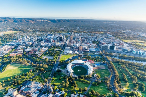 Adelaide, Australia, one of least polluted cities in the world