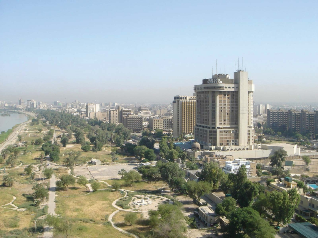 Baghdad air pollution ranked 19th worst in the world in 2021