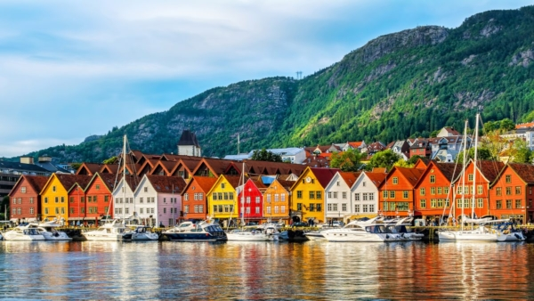 Bergen, Norway, one of least polluted cities in the world